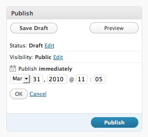 add new posts automatically - auto publishing