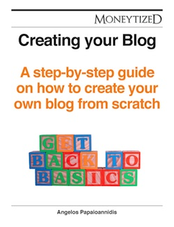 Creating your Blog eBook