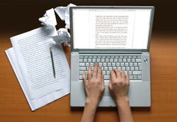 how to write for the search engines